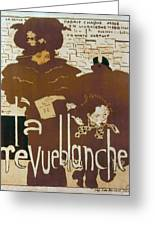 Bonnard Revue 1894 Greeting Card