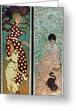 Bonnard: Women, 1891 Greeting Card