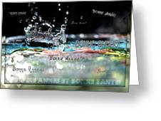 Bonne Annee Card Greeting Card