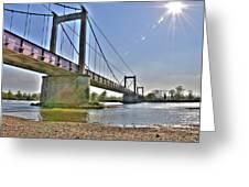 Bonny Bridge Greeting Card