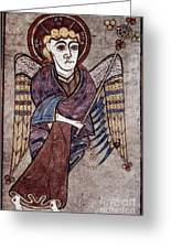 Book Of Kells: St. Matthew Greeting Card