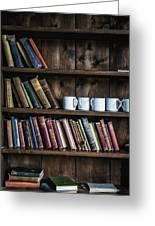 Book Shelf Greeting Card