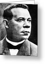 Booker T. Washington, African-american Greeting Card