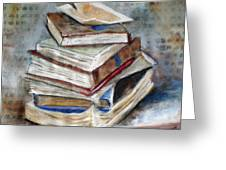 Books Gerdasmitart Greeting Card