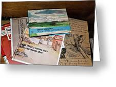 Books Of Beauty Greeting Card