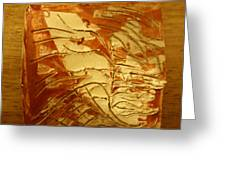 Boomerang - Tile Greeting Card