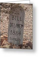 Boot Hill, Tombstone, Az Greeting Card