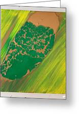 Boot Top In A See Of Grass Greeting Card