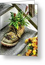 Booted Plant Greeting Card