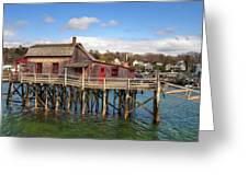Boothbay Harbor 02287 Greeting Card