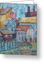 Boothby Harbor Tl Wy Greeting Card