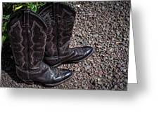 Boots 2  Greeting Card