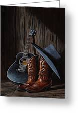 Boots Greeting Card by Antonio F Branco