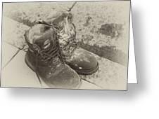 Boots Reno Greeting Card