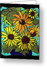 Boquet Of Sunshine Greeting Card