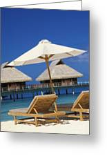 Bora Bora, Beach Greeting Card