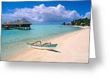 Bora Bora Moana Greeting Card