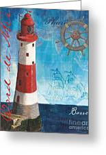 Bord De Mer Greeting Card by Debbie DeWitt