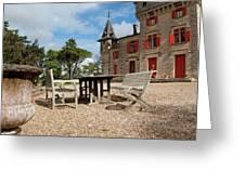 Bordeaux Chateau Greeting Card