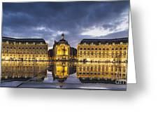 Bordeaux Place De La Bourse  Greeting Card
