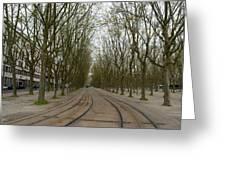 Bordeaux Tram Greeting Card
