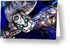 Borderlands The Pre-sequel Greeting Card