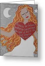 Borghild Greeting Card
