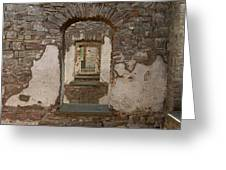 Borgholm Castle Greeting Card