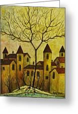 Borgo Antico Greeting Card