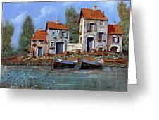 Borgo Viola Greeting Card