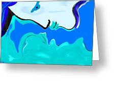 Born Of The Ocean Greeting Card