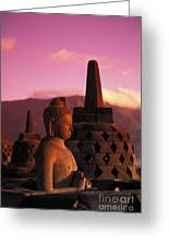 Borobudor Temple Greeting Card