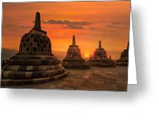 Borobudur Greeting Card