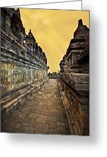 Borobudur Temple Greeting Card