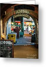 Borough Market Greeting Card