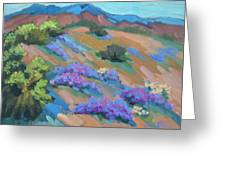 Borrego Springs Verbena Greeting Card