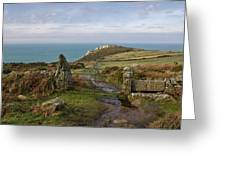 Bosigran In North Cornwall Greeting Card