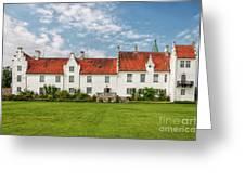Bosjokloster Monastery Castle Facade Greeting Card