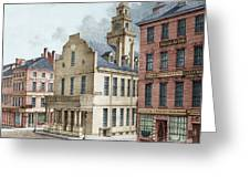 Boston, 19th Century Greeting Card