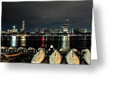 Boston Along The Charles River Greeting Card