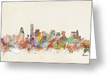 Boston City Greeting Card