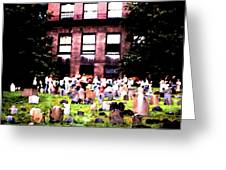 Boston Family Gathering Greeting Card