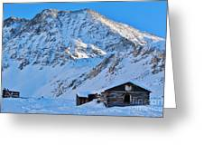 Boston Mine Winter 3 Greeting Card