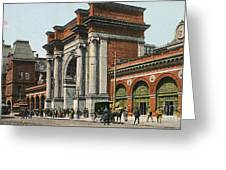Boston: North Station Greeting Card