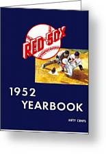 Boston Red Sox 1952 Yearbook Greeting Card