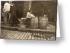 Boston: Slums, 1909 Greeting Card