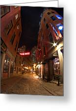 Boston Street Greeting Card