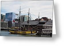 Boston Tea Party 14bos045 Greeting Card