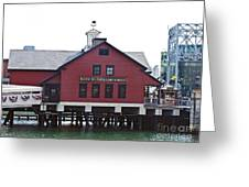 Boston Tea Party 14bos046 Greeting Card