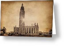 Boston United Methodist Church Greeting Card